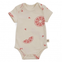 Body short sleeves grapefruit jersey cotton